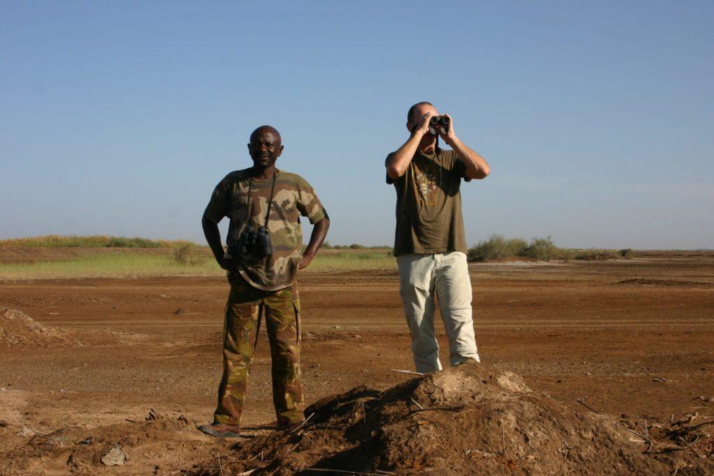Internationaal veldwerk, foto A&W